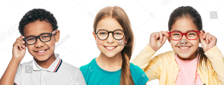 Kids with Glasses